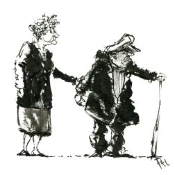 015-ink-sketch-old-couple-man-with-captains-hat-people-by-frits-ahlefeldt-hat-square-fss1