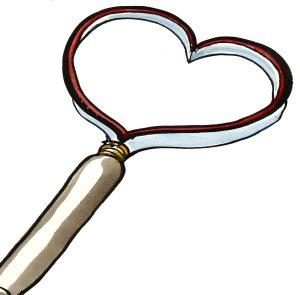 Love Magnifier illustration