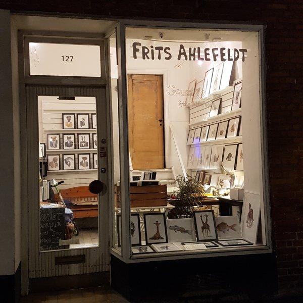 Frits Ahlefeldt studio in Copenhagen