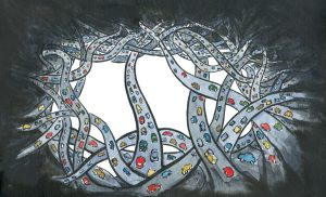 Drawing of a lot of roads leading nowhere
