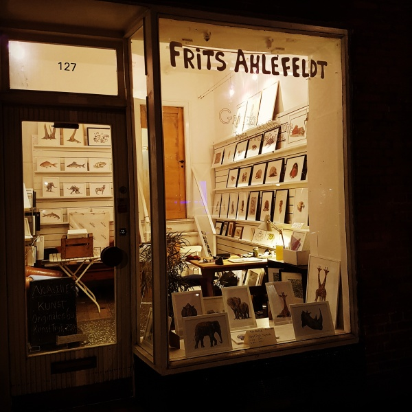 Frits Ahlefeldt Gallery in Copenhagen