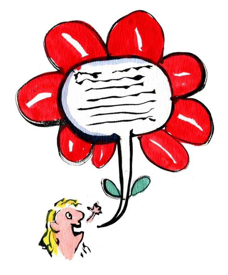 speech as a flower