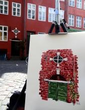 watercolor and motiv, Copenhagen Denmark