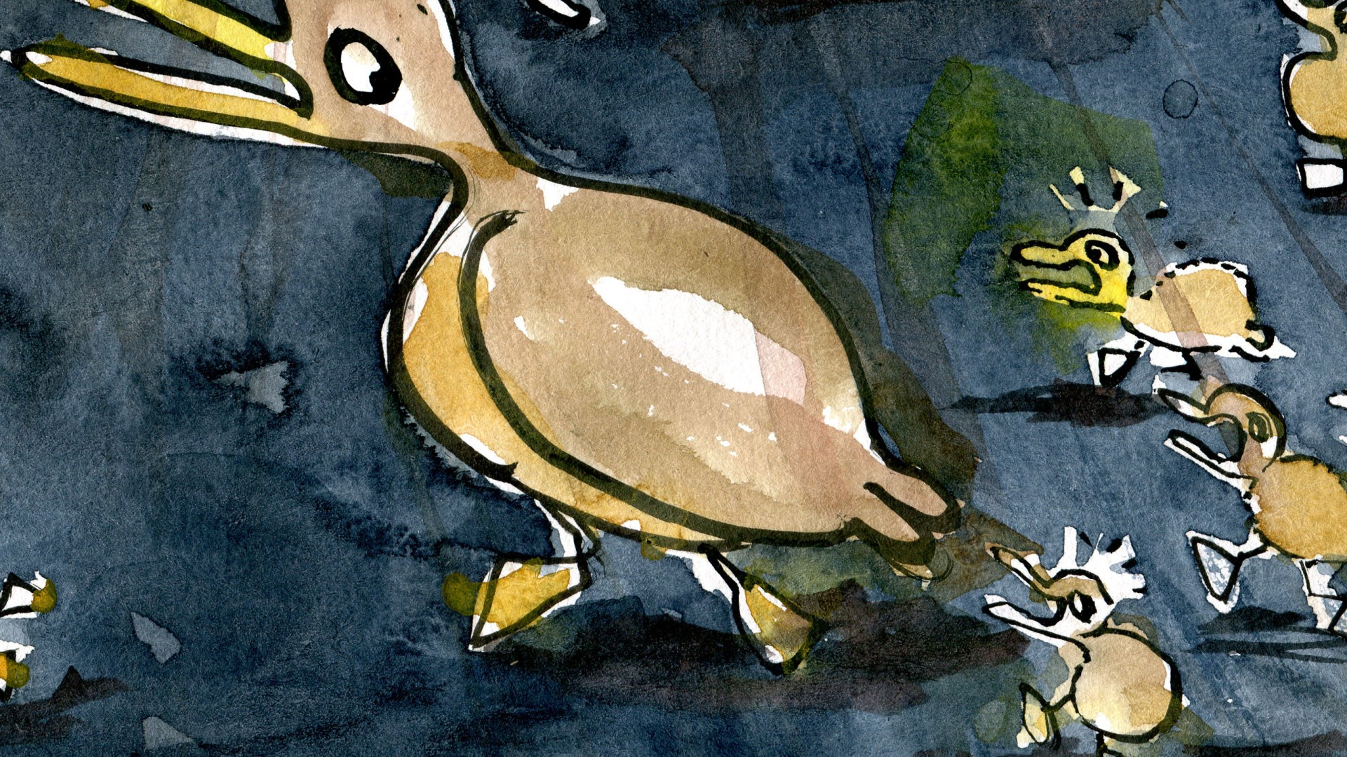 Sketch of a duck