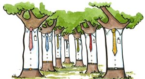trees with ties