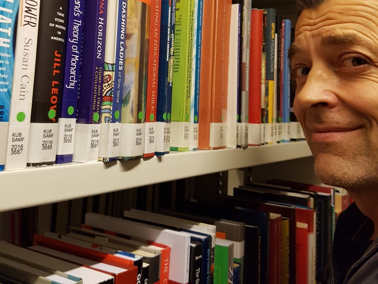 Frits Ahlefeldt on Library