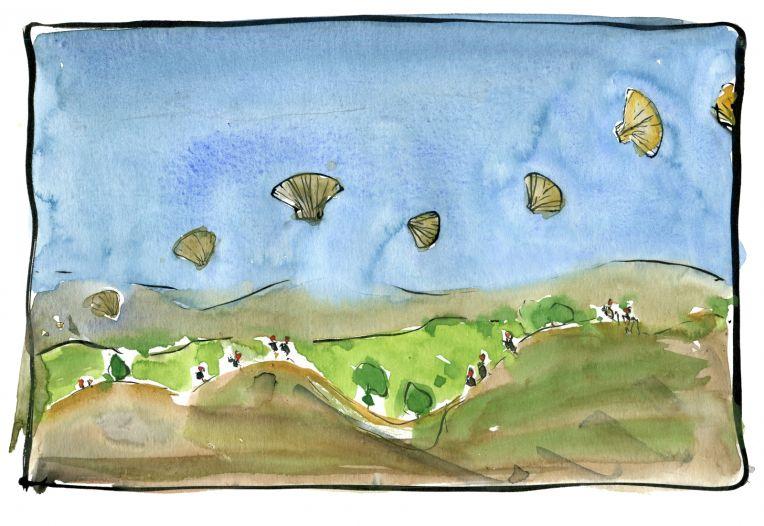 flying shells