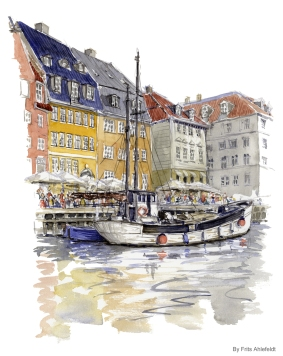 Fishing boat, Newhaven, Copenhagen