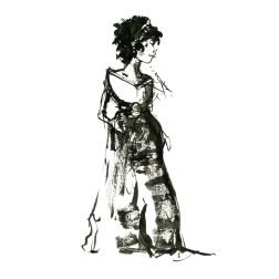 026-ink-sketch-woman-in-long-dress-black-hair-front-facing-people-by-frits-ahlefeldt-fss1-hat-square