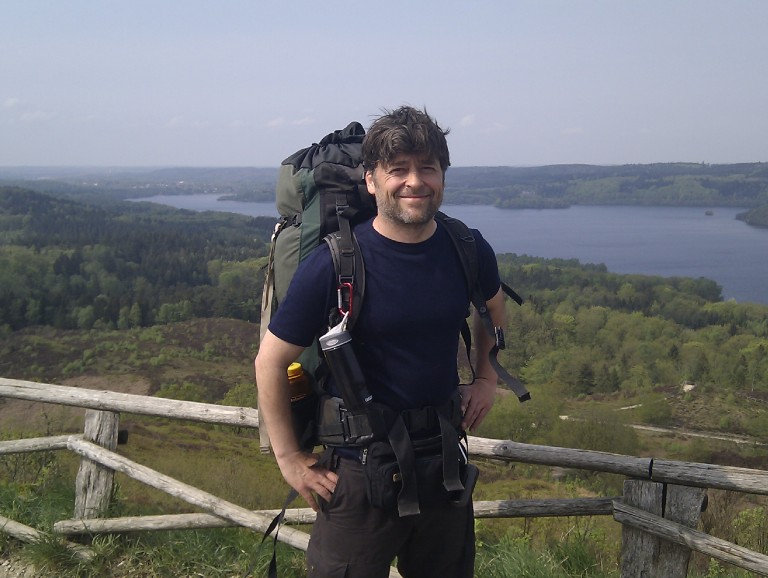 Hiking in Denmark