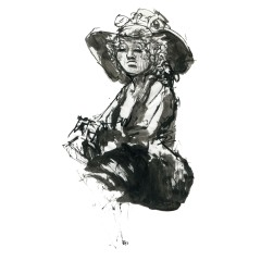 029-ink-sketch-woman-with-hat-sitting-by-frits-ahlefeldt-fss1-hat-square